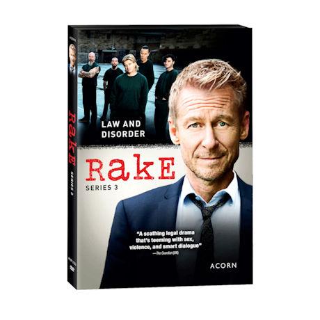 Rake: Series 3 DVD