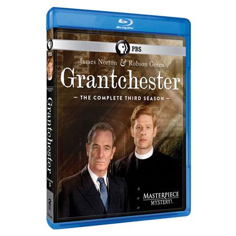 Grantchester Season 3 DVD & Blu-ray