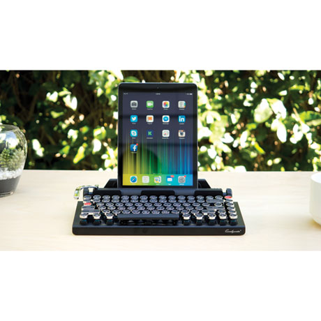 Qwerkywriter Keyboard with Bluetooth