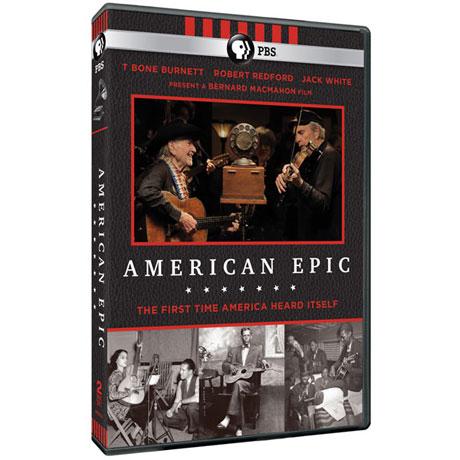 American Epic DVD & Blu-ray