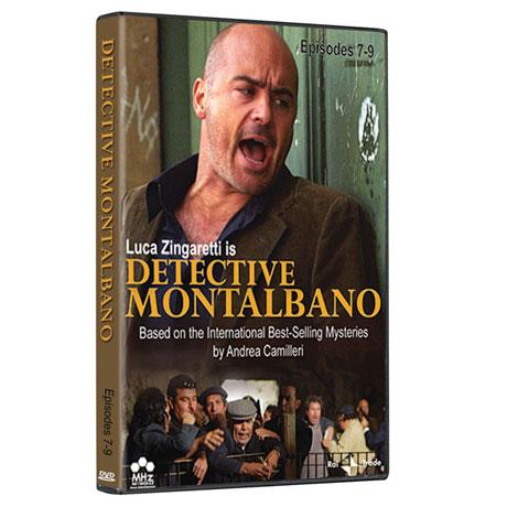 Detective Montalbano: Episodes 7-9 DVD