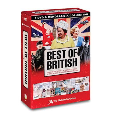 Best of British DVDs and Memorabilia Boxed Set