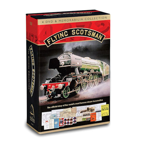 Flying Scotsman DVDs and Memorabilia Boxed Set