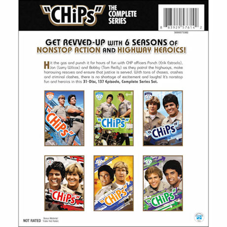 CHiPs: The Complete Series DVD
