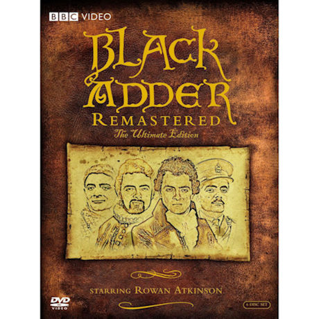Blackadder Remastered: The Ultimate Edition DVD