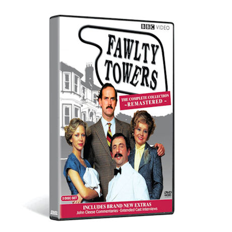 Fawlty Towers: The Complete Collection Remastered DVD