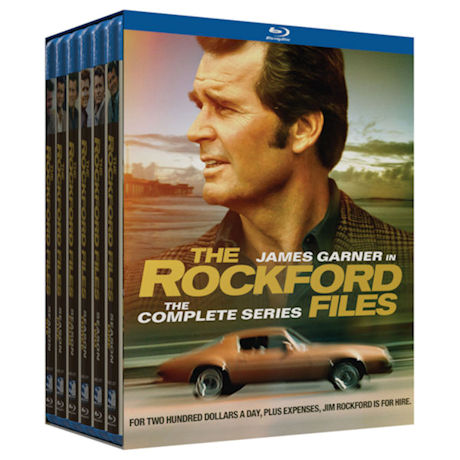 The Rockford Files: The Complete Series DVD & Blu-ray