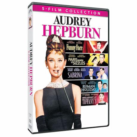 Audrey Hepburn 5 Film Collection DVD