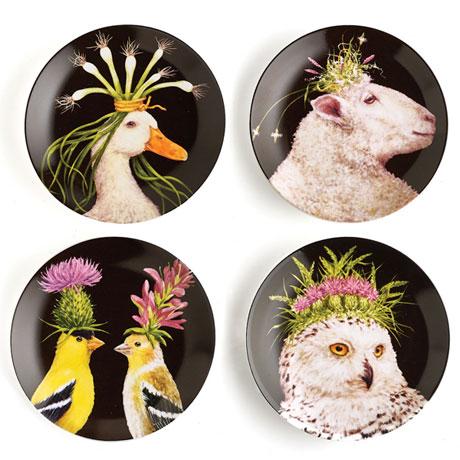 Wild & Wooly Plates Set