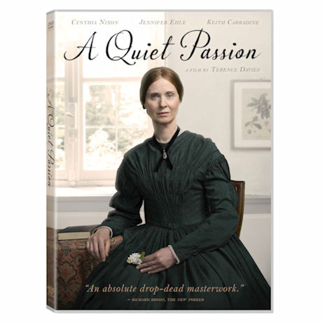 A Quiet Passion DVD & Blu-ray