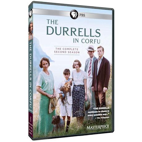 The Durrells in Corfu: Season 2 DVD & Blu-ray