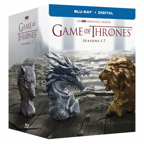Game of Thrones: Complete Seasons 1-7 (Ships December 12) DVD & Blu-ray