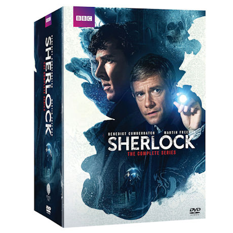 Sherlock: Seasons 1-4 & Abominable Bride Gift Set DVD & Blu-ray