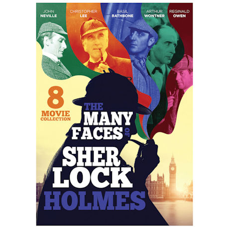 The Many Faces of Sherlock Holmes 8-Movie Collection DVD