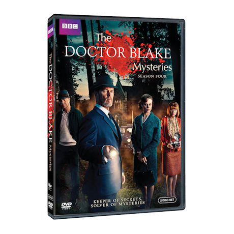 Doctor Blake Mysteries: Season Four DVD