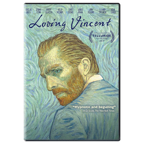 Loving Vincent DVD & Blu-ray