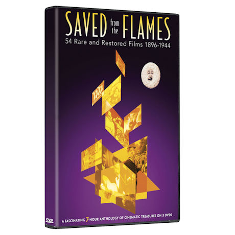Saved from the Flames: 54 Rare and Restored Films 1896-1944 DVD