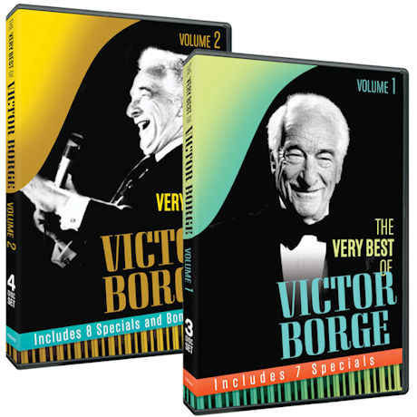 Victor Borge: Volume 1 and 2 DVD