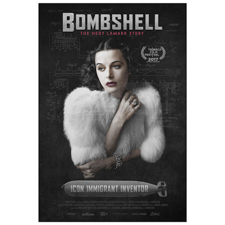 Bombshell: The Hedy Lamarr Story DVD & Blu-ray
