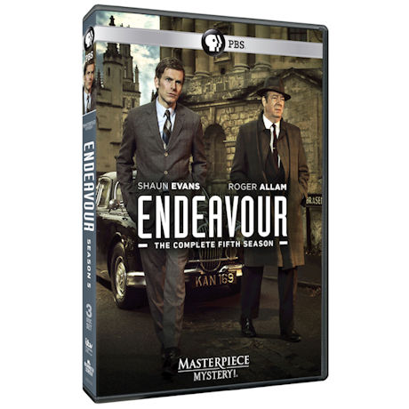 Endeavour Season 5 DVD & Blu-ray
