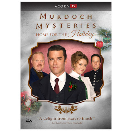 Murdoch Mysteries: Home for the Holidays DVD & Blu-ray