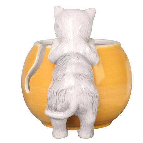 Curious Cat Yarn Bowl