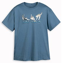 CAT YOGA SHIRT