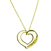 MOM AND GRANDMOTHER I LOVE YOU NECKLACES - 14K GOLD
