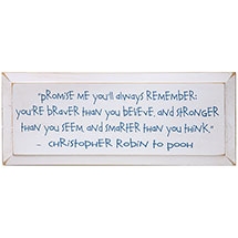CHRISTOPHER ROBIN PLAQUE