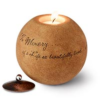MEMORIAL TEA LIGHT HOLDER