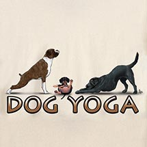 DOG YOGA SHIRT