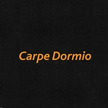 CARPE DORMIO T-SHIRT