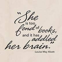 TOO FOND OF BOOKS SHIRT