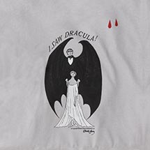 EDWARD GOREY - I SAW DRACULA SWEATSHIRT