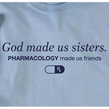 GOD MADE US SISTERS TEES