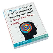 399 GAMES PUZZLES & TRIVIA CHALLENGES BOOK