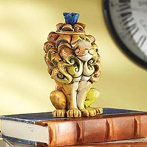 VALENTINO THE LION CERAMIC SCULPTURE