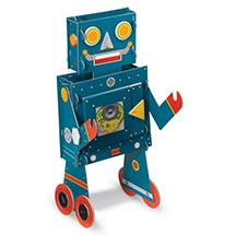 MY LITTLE BLUE ROBOT BOOK