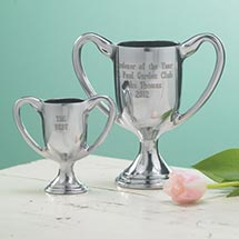 PERSONALIZED TROPHY - ENGRAVED LARGE TWO LINES