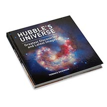 HUBBLE'S UNIVERSE: GREATEST DISCOVERIES AND LATEST IMAGES BOOK