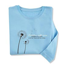 DANDELION PUFFS AWAY TEES