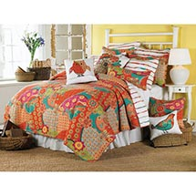 "ZANZIBAR BEDDING - RECTANGLE QUILTED PILLOW (24"" X 12"")"