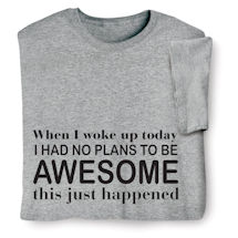 e988050b1 Plans to Be Awesome Shirts