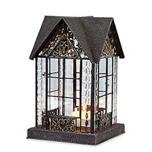 Candle Lantern Architectural Design In Metal Frame