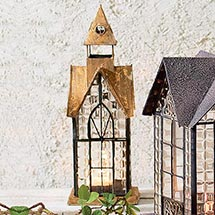 ARCHITECTURAL CANDLE LANTERN - HAMPTON