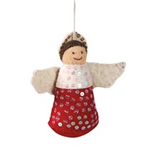 HANDMADE FELT DECORATION - ANGEL ORNAMENT
