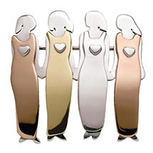 FOUR WOMEN PIN
