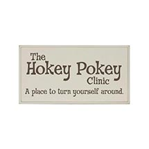 THE HOKEY POKEY CLINIC SIGN