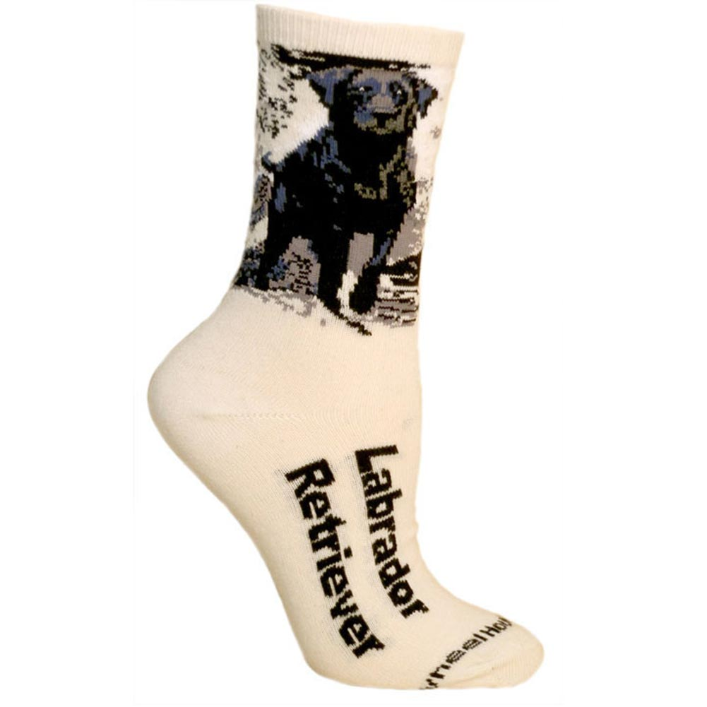 WHATONEARTH Dog Breed Socks - Men's - Black Labrador at Sears.com