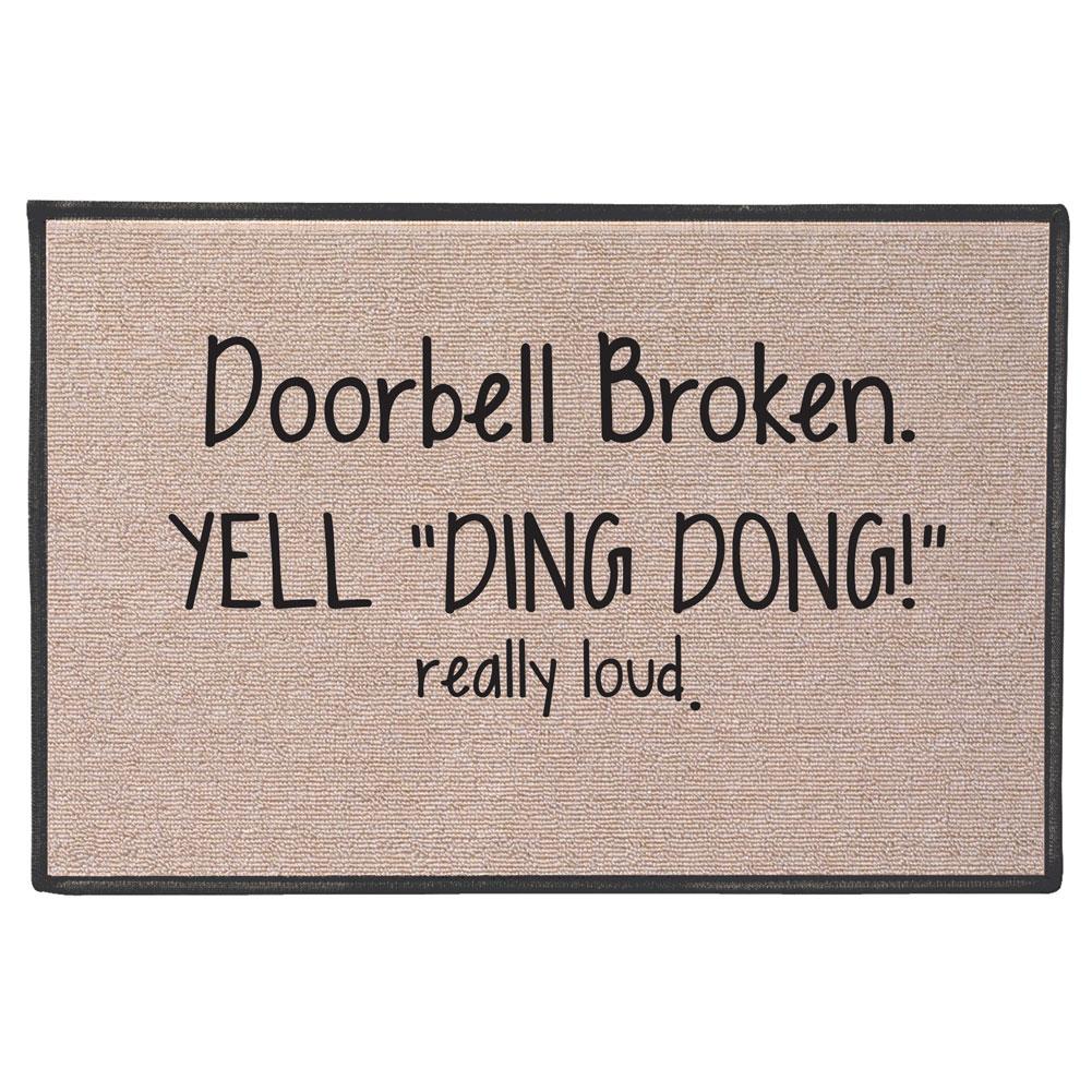 Exclusive Doorbell Broken Yell Ding Dong Really Loud
